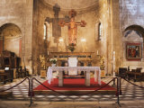 Altar of the Romanesque Church of San Michelle  Lucca  Italy