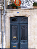 Entrance of Wine Merchants in Bordeaux  Quai Des Chartrons  France