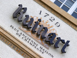 Winery Sign  Champagne Ruinart  Reims  Marne  Ardennes  France