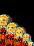 Russian Handicrafts  Matrushka Nesting Dolls
