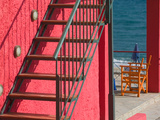 Red Building  Lourdata Beach  Lourdata  Kefalonia  Ionian Islands  Greece