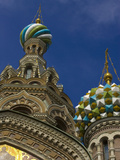 Two Towers  Church of the Savior on the Spilled Blood  St Petersburg  Russia