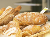 Loaf of Bread in Bakery  Le Brusc  Var  Cote d'Azur  France