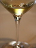 Glass of Champagne  Champagne Jacquesson in Dizy  Vallee De La Marne  Ardennes  France