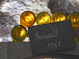 Wine Cellar and Bottles of Meursault  Maison Louis Jadot  Beaune  Burgundy  France
