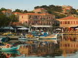 Fishing Port  Lesvos  Mithymna  Northeastern Aegean Islands  Greece