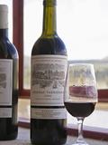 Bottle and Glass  Chateau Vannieres  La Cadiere d'Azur  Bandol  Var  Cote d'Azur  France