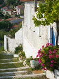 Hillside Vacation Villa Detail  Assos  Kefalonia  Ionian Islands  Greece