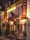Hotel Bergerand's in Village of Chablis  Bourgogne  France