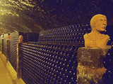 Sculptured Heads in Cellar  Thummerer Winery  Eger  Hungary