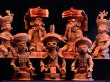 Offering Vessels  Copan  Maya  Mexico