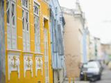 Colonial Architecture in Carmo Neighborhood  Pelourinho Area of Salvador Da Bahia  Brazil
