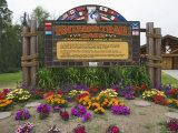 Headquarters of the Iditarod Trail Dogsled Race  Wasilla  Alaska  USA