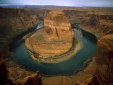 Horseshoe Bend Showing Erosion by the Colorado River  Arizona  USA