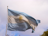 National Flag  Buenos Aires  Argentina