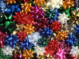 Montage of Multicolored Bows