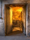 Entrance to Underground Wine Cellar  Bodega Juanico Familia Deicas Winery  Juanico