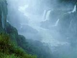 Misty Scenic of Iguasu Falls  Brazil