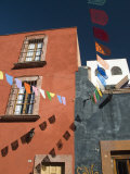 Banners in Street  San Miguel De Allende  Mexico