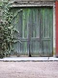 Old Garage Door  Vinos Finos H Stagnari Winery  La Puebla  La Paz  Canelones  Montevideo  Uruguay