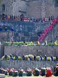 Participants in Annual Inti Raimi Festival That Celebrates Ancient Inca Ritual  Cusco  Peru