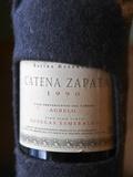 Bottle of Estiba Reserva Catena Zapata  Bodegas Esmeralda  O'Farrell Restaurant