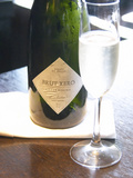 Bottle of Brut Xero Cuvee Dogma  Domaine St Diego  O'Farrell Restaurant