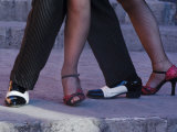 Tango Dancers&#39; Feet  San Miguel De Allende  Mexico