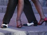 Tango Dancers' Feet  San Miguel De Allende  Mexico