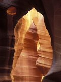 Colorful Sandstone in Antelope Canyon  Near Page  Arizona  USA