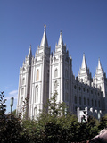 Temple Square Featuring the Salt Lake Temple  Church of Jesus Christ of Latter-Day Saints