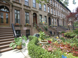 Brownstone in Brooklyn  New York  USA