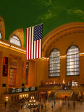 Interior View of Grand Central Station  New York  USA