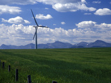 Wind Energy Development  Montana  USA