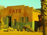 Abandoned Desert Eatery  Sloan  Nevada  USA
