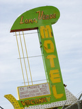 Loma Verde Motel Sign  New Mexico  USA