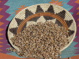 Dried Beans in a Native American Basket