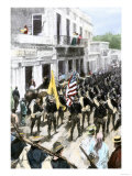 US Troops Entering Ponce  Puerto Rico  During the Spanish-American War  c1898