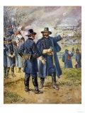 General Burnside Ordering Hooker to Charge the Heights at Fredericksburg  Virginia
