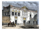 House of Hernando Cortes in Mexico City  Built by Native Labor in the 1500