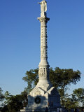 Victory Monument at Yorktown Battlefield  Virginia