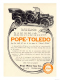 Ad for a Pope-Toledo Automobile  c1907