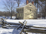 General Washington's Headquarters at Valley Forge during Winter Encampment  Pennsylvania