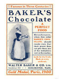 Ad for Baker's Chocolate  c1900
