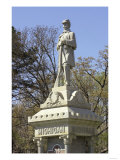 Monument to Civil War Soldiers from Michigan Who Died in the Battle of Shiloh