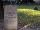 Boston Massacre Victims' Grave in the Old Granary Burying-Ground  Boston  Massachusetts