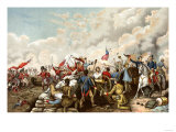 General Andrew Jackson's Victory over the British at New Orleans  c1815