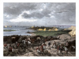 Siege of Charleston  South Carolina  by the British during the American Revolution