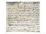 William Clark's Letter Accepting Lewis's Invitation to Join the Corps of Discovery Expedition