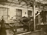 Book and Magazine Printing Press at Harper and Bros  New York City
